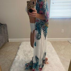 Kimono / Robe / Swimsuit Coverup / Floral